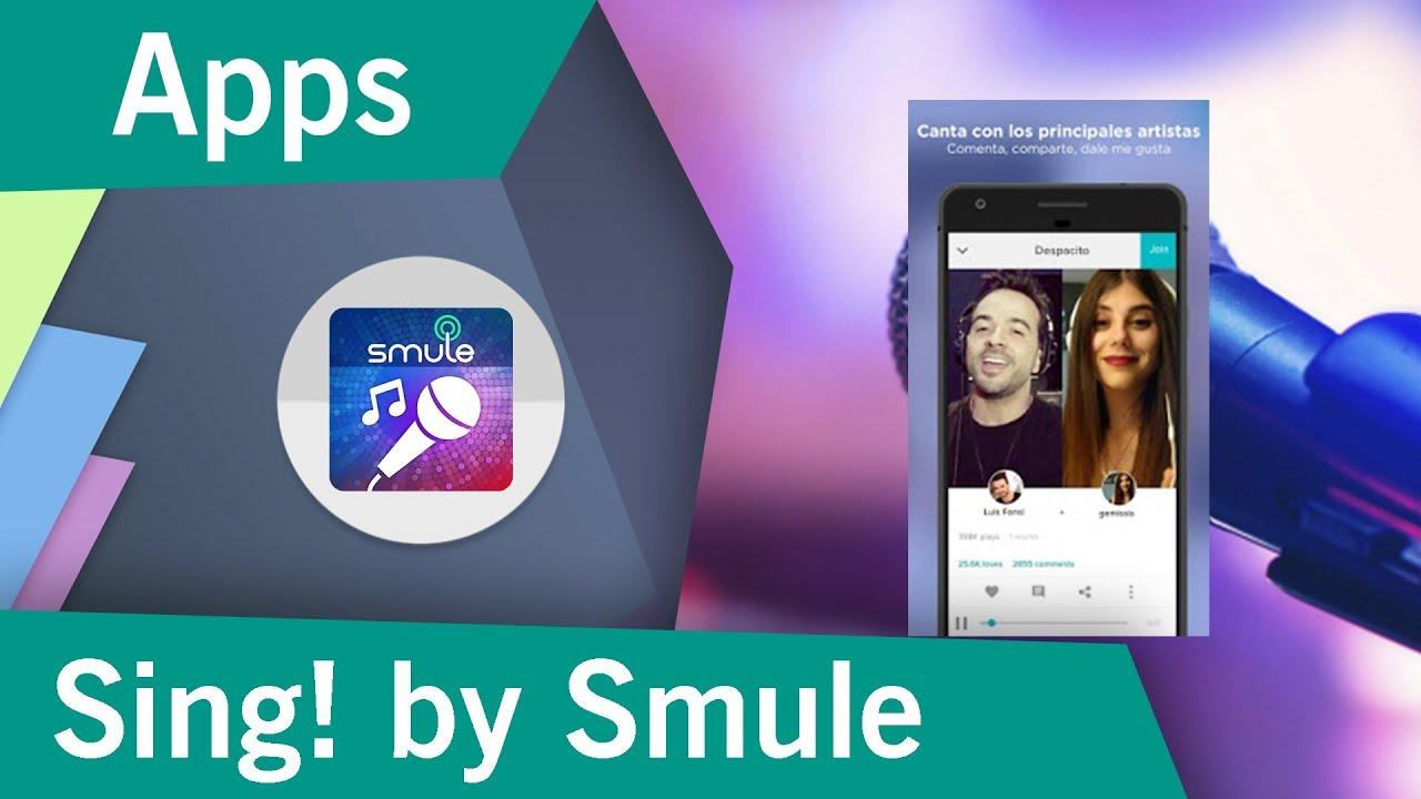Smule app para cantar