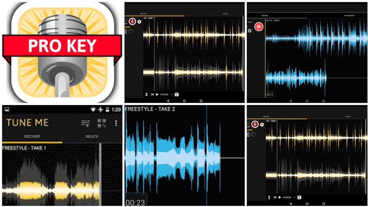 TuneME, app para cantar bien