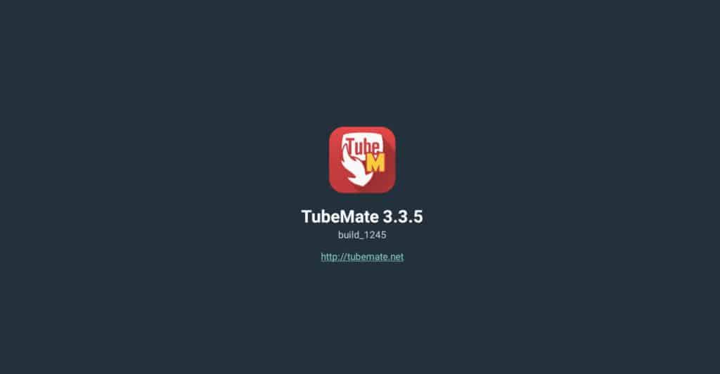 aplicaciones para descargar videos de youtube - TubeMate Inicio