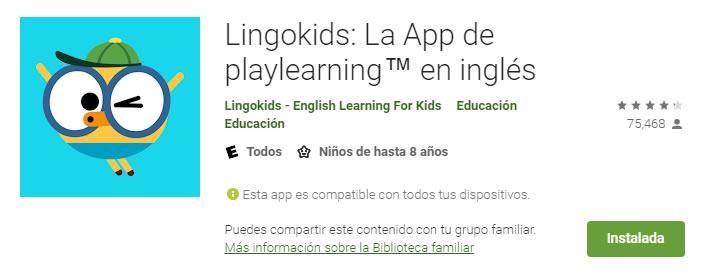 lingokids aplicaciones educativas