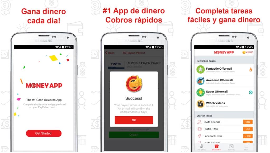 Money App, aplicaciones para ganar dinero