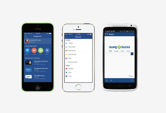 Swagbucks, aplicaciones para ganar dinero