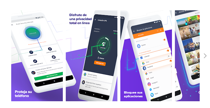 Avast Mobile Security, Aplicaciones antivirus para celular