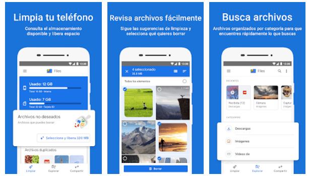 App Files Go de Google